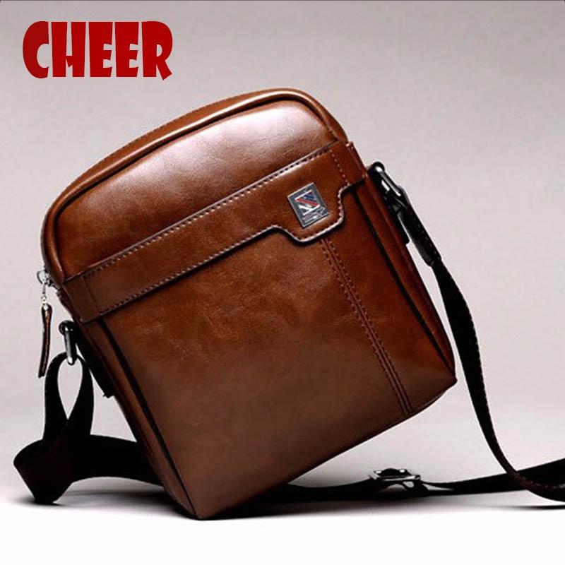 Nuovi uomini di marca Borse a tracolla della spalla delle borse del progettista del cuoio sintetico degli uomini di alta qualità piccole borse del Crossbody