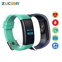 Умный браслет часы IP68 Водонепроницаемый Плавание браслет SmartBand Браслеты удаленного Камера Фитнес трекер для IOS Android Для мужчин