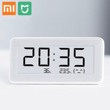 Original Xiaomi Mijia Smart Electronic Watch Temperature Humidity Monitoring E-Ink Screen For Greenhouse Storage Room Bathroom(China)