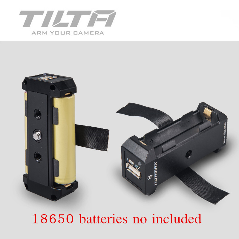 Tilta Dual 18650 Battery Pack Power Supply for Nucleus Nano
