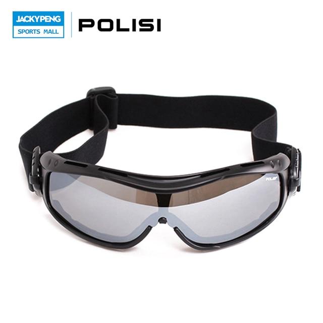7d5f801fe0d8 POLISI Outdoor Sport Ski Snowboard Skate Goggles UV Protection Motorcycle  Snowmobile Goggles Men Women Skiing Snow Eyewear