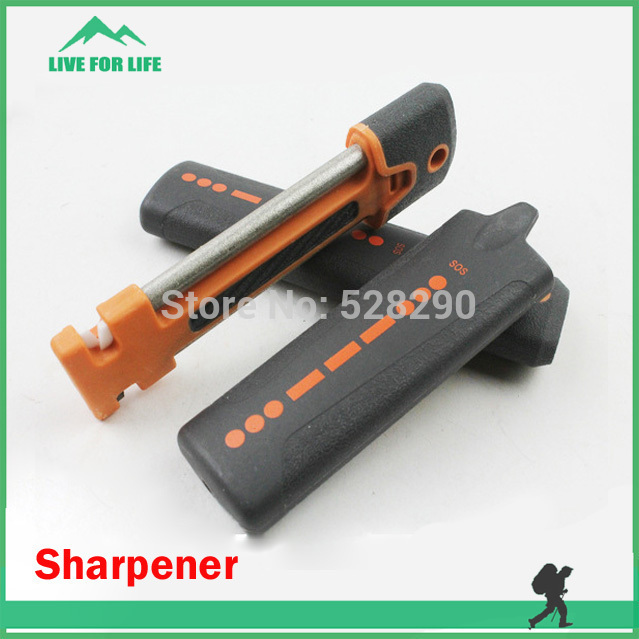 Professional Hiking Camping Portable Pocket Knife Sharpener for Outdoor