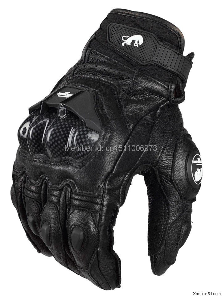 Free Shipping AFS 6 Men's Leather Racing Gloves Motorcycles Protective Gloves Highway Gloves цена и фото
