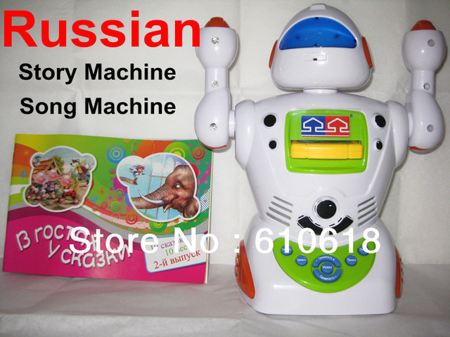 Free Shipping Russian Language Learning Machine Story Machine Sing Songs Machine Educational Toys Children Best Gifts In Stock