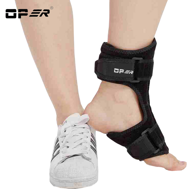 OPER Professional Medical Ajustable Foot Drop Ankle Support Brace Achilles Plantar Fasciitis Tendonitis Night Splint Pain Relief oper adjustable medical hinged knee orthosis brace support ligament sport injury orthopedic splint osteoarthritis knee pain pads