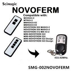 Novoferm Mini Novotron 522  524 kompatybilny pilot zdalnego sterowania 433.92 MHz brama kontroli Novoferm toczenia kod otwierania drzwi garażowych w Piloty do drzwi od Bezpieczeństwo i ochrona na