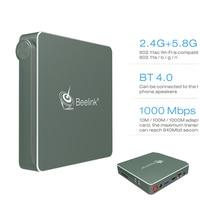2 4 5 8G Dual Wifi TV Box 4G 64G Apollo N3450 Mini PCBluetooth 4 0