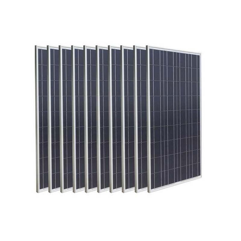 Panneau solaire 1000 w 220 v chargeur de batterie solaire téléphone Module solaire 12 v 100 w 10 pièces système solaire maison camping-Car voiture