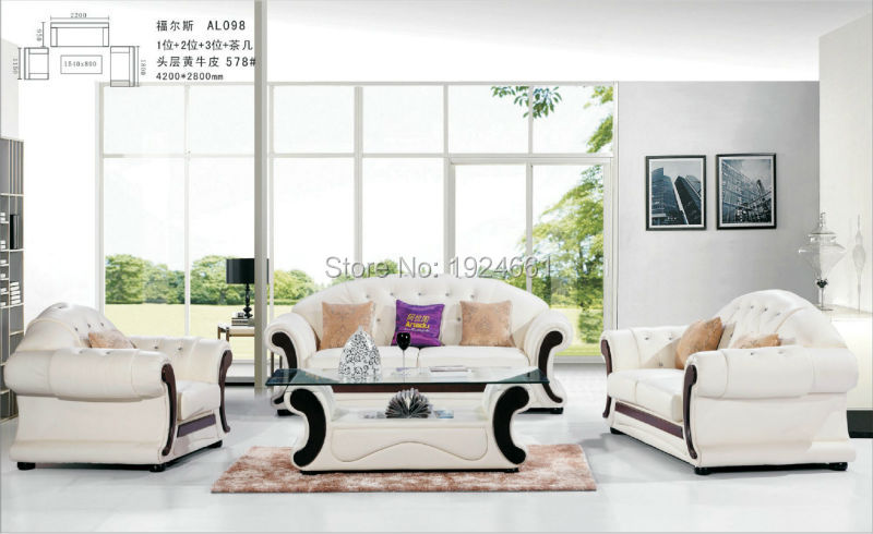 European Style Set Modern No Sofas Direct Factory Muebles For Living