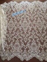 Модная искусственная ткань высокого качества, фатиновая кружевная ткань для свадебного платья