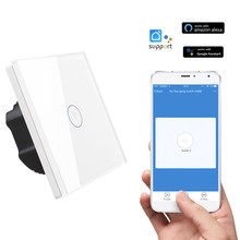 Фотография HIPERDEAL Smart Home Automation Modules Smart Wall Switch EU Standard Remote Switch for IOS Android dec7