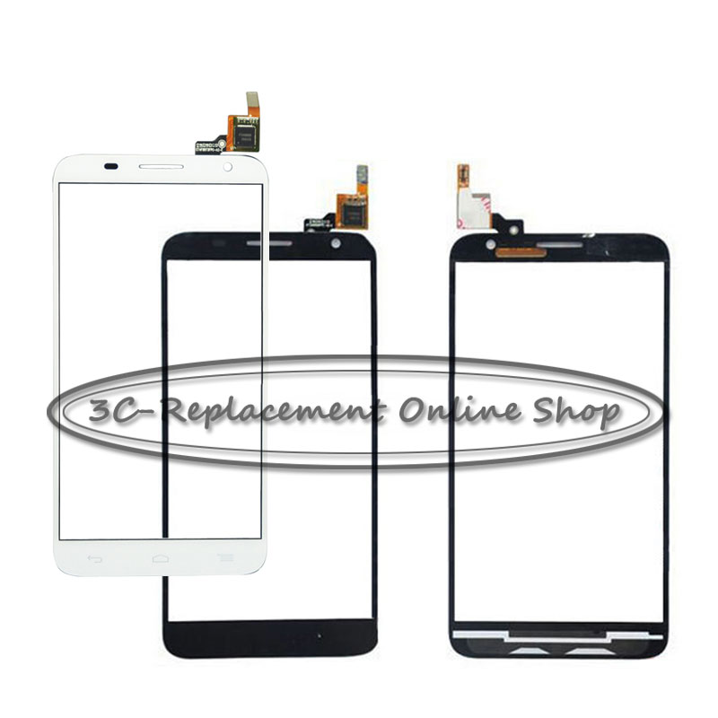 1PCS Replace NEW Touch Panel For Alcatel One Touch Idol 2S 6050Y 6050 6050F OT6050 BlackWhite touch screen display