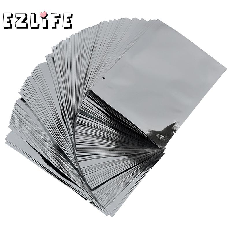 Us 2 64 42 Off Silver Aluminum Foil Mylar Bag Package Vacuum Sealer Food Storage Kitchen Use Accessories 100pcs Pack Ms328 In