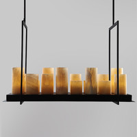 Pendant Light Vintage Kevin Reilly French Annular Altar Candle Pendant Light H