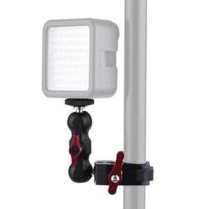 """Image 5 - Andoer متعددة الوظائف الكرة رئيس المشبك تحميل كروي المشبك ماجيك الذراع سوبر المشبك ث/1/4 """" 20 الموضوع ل GPS الهاتف رصد الفيديو الضوئي"""