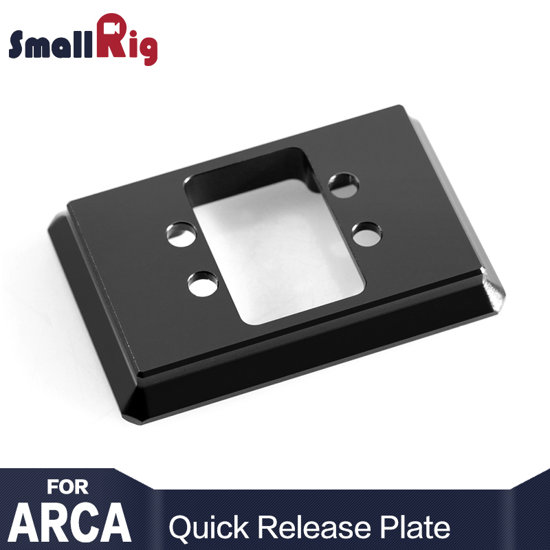 SmallRig Aluminum Dual Plate For Arca Swiss Style Quick Release Plate Camera Rig 1710