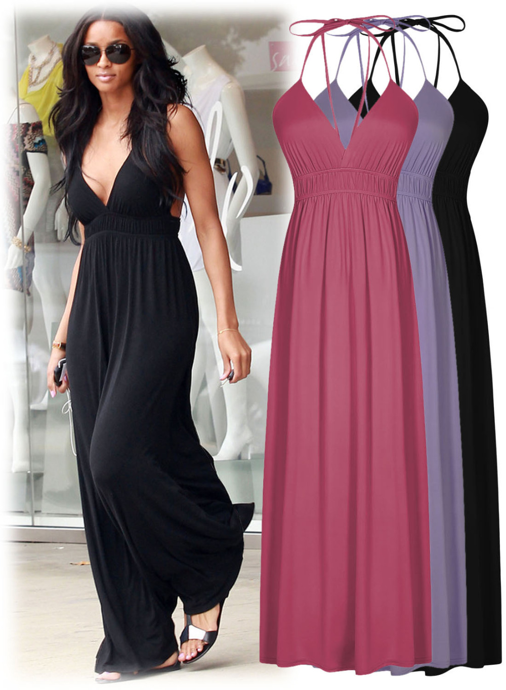 Floor Length Summer Dresses