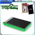Tropweiling solar portátil banco do poder de bateria externa 6000 mah banco de potência bonito 18650 caixa bonito carregador portátil para Todos Os telefones