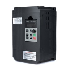 2.2KW 12A 3HP Single Phase Variable Frequency Inverter Speed Control Drive Inverter VSD VFD PWM Control 220v 0 75kw pwm control variable frequency drive vfd 3ph input 3ph frequency drive inverter
