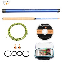 Angler Dream 12 13FT Tenkara Fly Fishing Rod Combo 7 3 Fast Action Carbon Fiber Telescoping