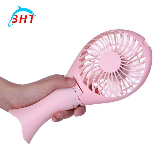 Ultrasonic Portable Battery Fan Cooling Tabletop Laptop Air Conditioner  Detachable Electric Mini USB Fan For Home