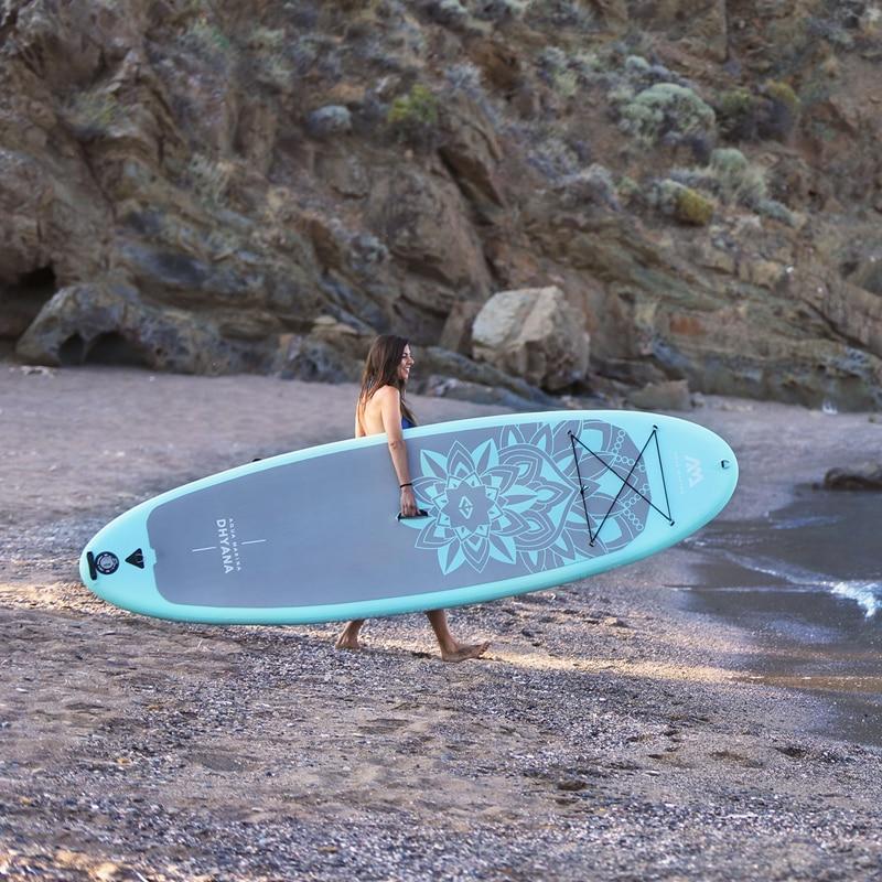 Yoga 336*91*12 cm AQUA MARINA DHYANA SUP stand up paddle board yoga surf agua clubexcercise equipo