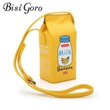 Bisi Goro 2019 Fruit Cup Women's multi-function Ladies Small Handbag women's Clutch Bag Shoulder Bag Mobile Phone Bag Mini Bag