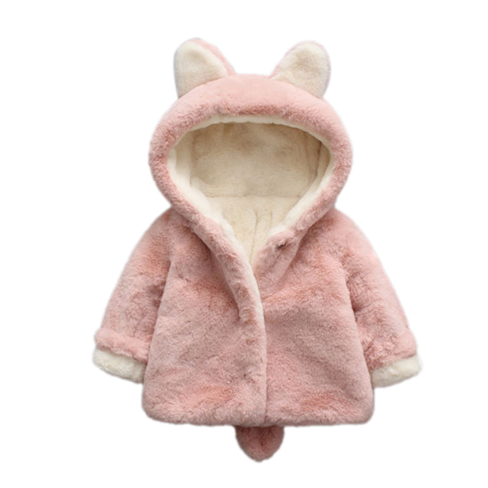 MUQGEW Baby Clothes Girl Autumn Winter Hooded Coat Cloak Jacket Thick Warm Clothes First Birthday Outfit Girl Infantil QZ06 hot sale open front geometry pattern batwing winter loose cloak coat poncho cape for women