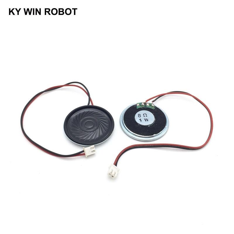 2pcs/lot New Ultra-thin Speaker 8 Ohms 1 Watt 1W 8R Speaker Diameter 40MM 4CM Thickness 5MM With PH2.54 Terminal Wire Length 20C