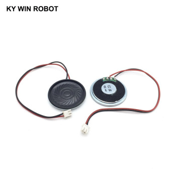 2pcs/lot New Ultra-thin speaker 8 ohms 1 watt 1W 8R speaker Diameter 40MM 4CM thickness 5MM with PH2.54 terminal wire length 20C 2pcs lot new ultra thin speaker 8 ohms 2 watt 2w 8r speaker diameter 30mm 3cm thickness 5mm with 1 25mm terminal wire length 10c