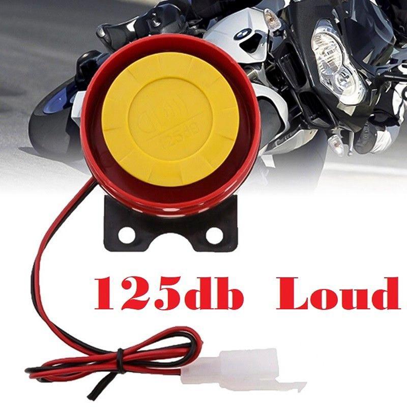 Автомобиль ATV Мотоцикл Грузовик велосипед громкий Гудок Сирена для мотоцикла сигнал клаксон 125 дБ 12 В Электрический универсальный