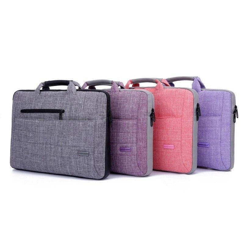 Zbrusu nové 15,6 palcový notebook taška kabelka rameno taška Ochranný pouzdro Pouzdro pro Macbook HP Dell Lenevo