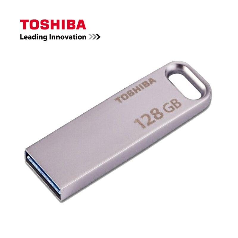 TOSHIBA U363 Metal USB Flash Drive 64GB Pen Drive 32GB Pendrive USB3.0 Flash Drive 16GB Usb Stick Waterproof Pendrive usb flash drive 16gb iconik танк rb tank 16gb