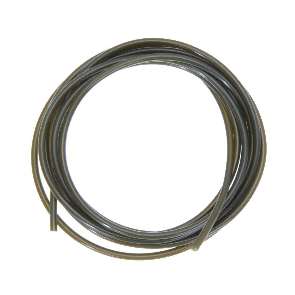 2m Carp fishing Plastic rings tube 1mm ID sleeve pretend fishing lines For carp fishing Carping Accessories Free Shipping FE5#