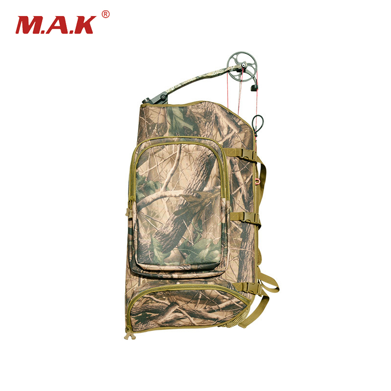Archery Top Opening Universal Compound Bow Bag Length 72cm in Camo with Two Shoulder Straps Backpack for All Style Compound bow