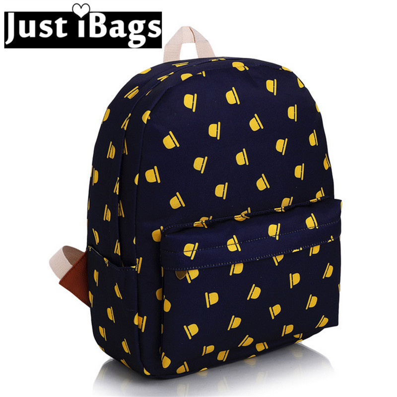 The Little Prince Fox Printed Backpacks Cartoon S Cute Backpack High School Fashionable Book Bags For College Mochila Women In From Luggage