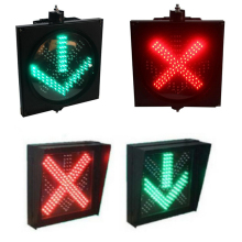 Led Bus Booking  Driveway Indicator Red Fork Green Arrow Tunnel Lamp Signal Light Traffic Lights