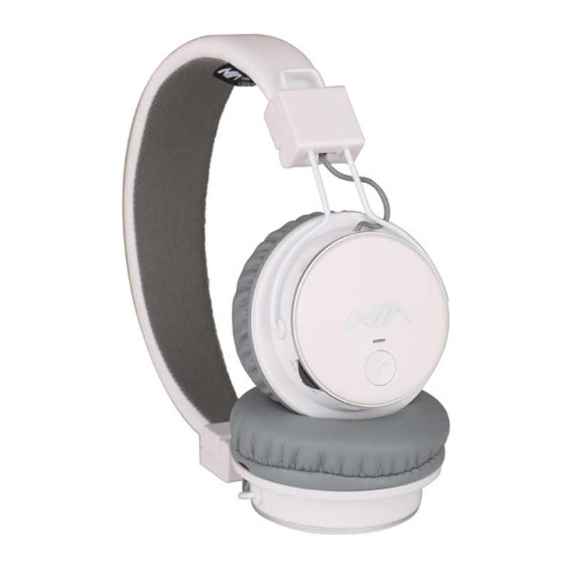 NIA Q8 Originale Senza Fili di Bluetooth Della Cuffia Stereo Pieghevole Cuffie con Microfono Sport Auricolare carta di Tf di Sostegno Radio FM