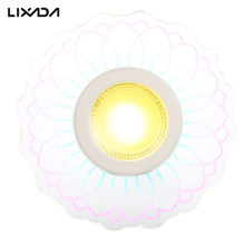 8W 110V LED Ceiling Light Colorful Porch Lamp for Corridor Aisle Stair Hallway Balcony Living Room Home Decor White(China)