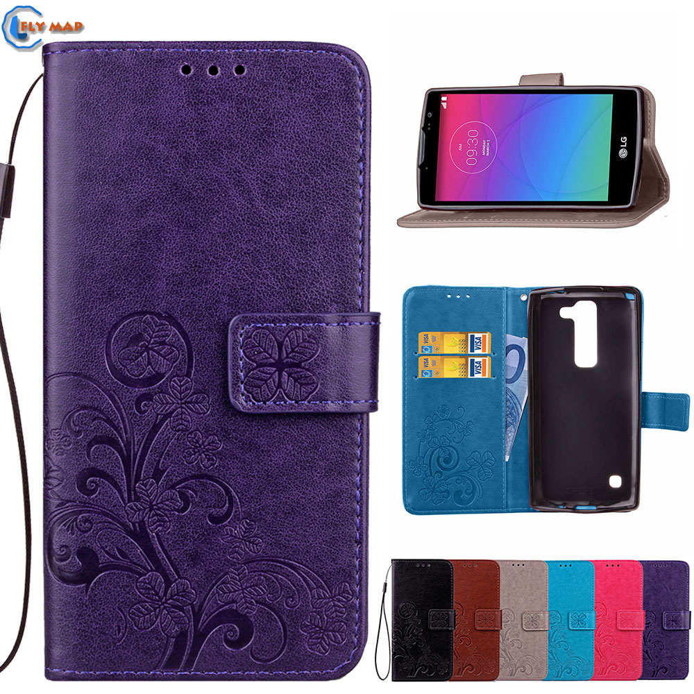 <font><b>Flip</b></font> <font><b>Case</b></font> For <font><b>LG</b></font> <font><b>Spirit</b></font> H422 H440N Wallet Box Phone PU Leather Cover Coque For LGSpirit H 422 440N H440AR H440AR <font><b>C70</b></font> H440F Bag image