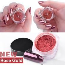 2g/ Box Sliver Nail Glitter Powder FeatheringWomen Shinning Nail Mirror Powder Makeup Art DIY Chrome Pigme P30 May29