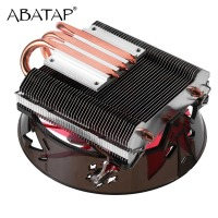 Ultra Quiet CPU Cooler Fan Pure Copper Heat Pipe CPU Radiator CPU Hydraulic Chassis Fan Cooling