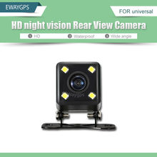 HD CCD 4 LED Night Vision Universal Rear View Reversing Parking Camera For android Car DVD Backup Parking Camera EWC-A-861