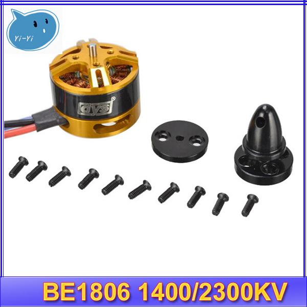 HIGH QUALITY 4set lot DYS BE1806 1400KV 2300kv 18g mini Brushless Motor 2 4S for Mini