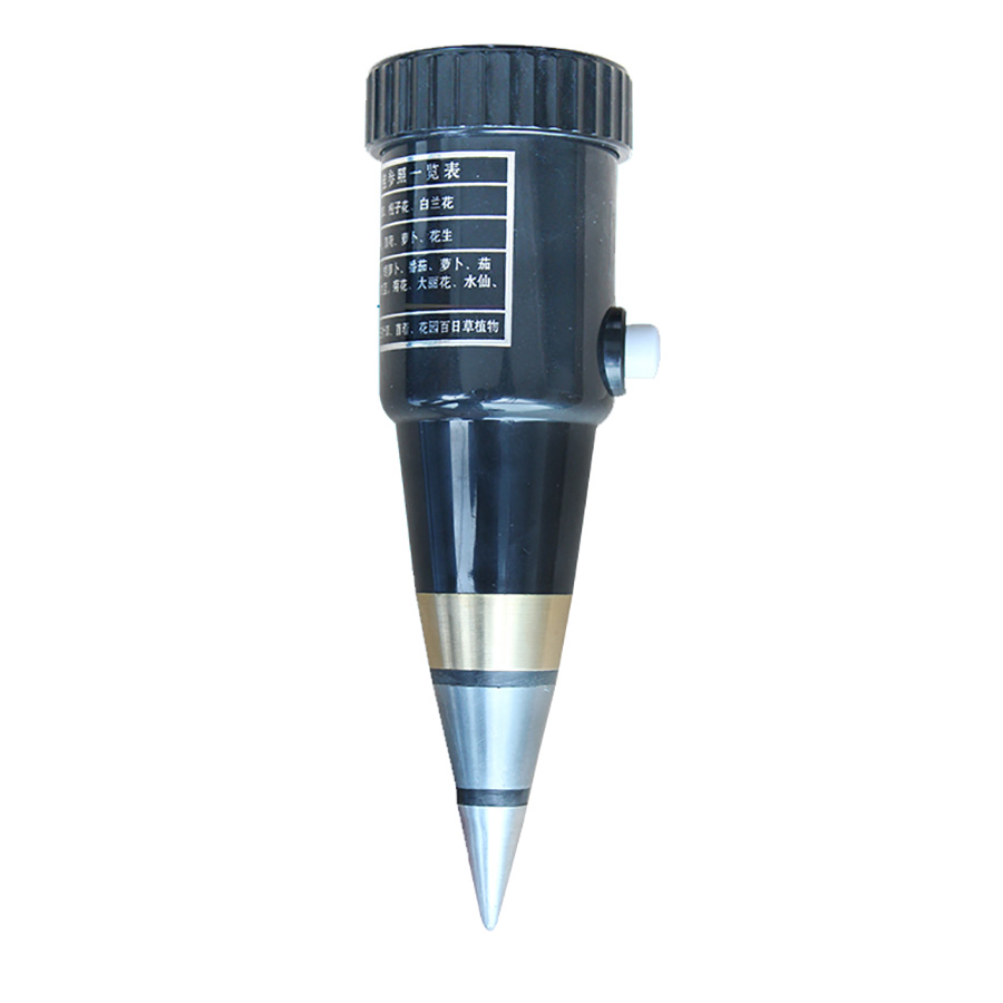 SDT-60 Soil pH Meter Hygrometer Deep Automatically 6cm Probes Reliable and Durable Water-proof Metal Electrode soil ph