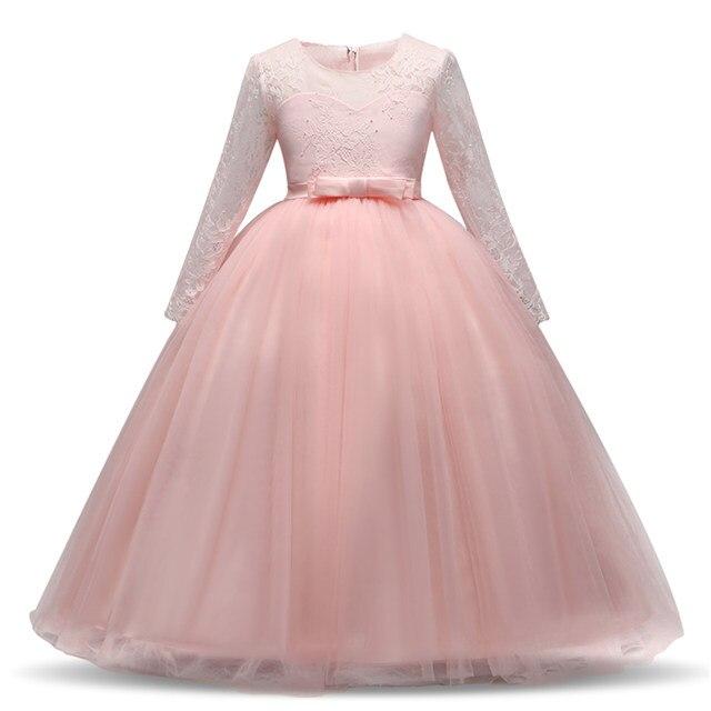 Online Shop Teens Kids Girls Exquisite Communion White Tulle Wedding ...