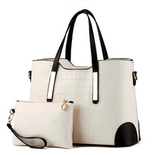 цены Women Bag Casual Tote Women PU Leather Handbags Fashion Women Messenger Bags Famous Brands Designer bolsos mujer Korea Style