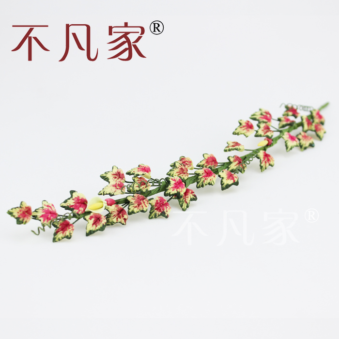 <font><b>1</b></font>:<font><b>12</b></font> scale dollhouse decoration Handmade Autumn Feng Shuye Flower vine image