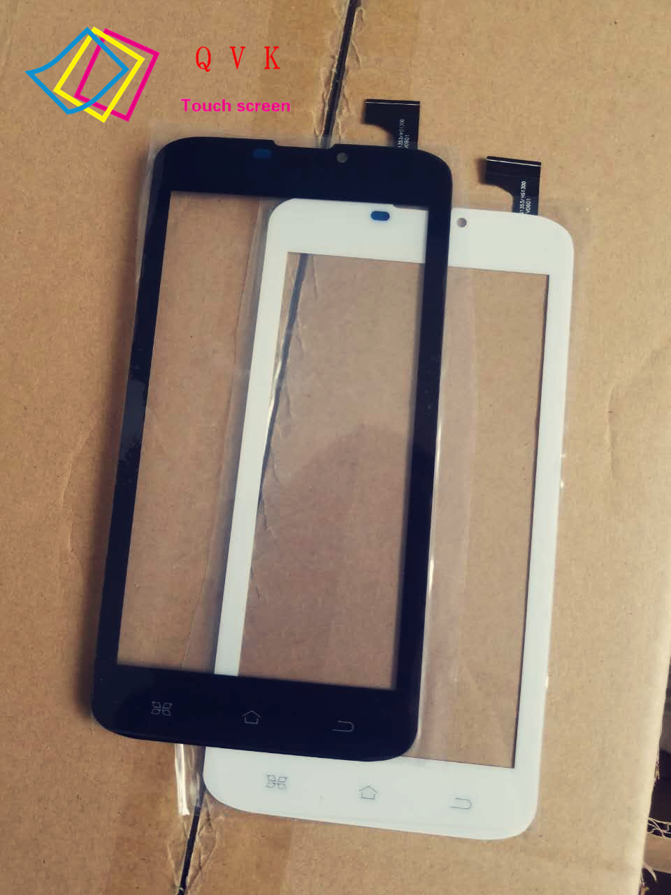 Black White for Etuline Hybrid S6022 tablet pc capacitive touch screen glass digitizer panel