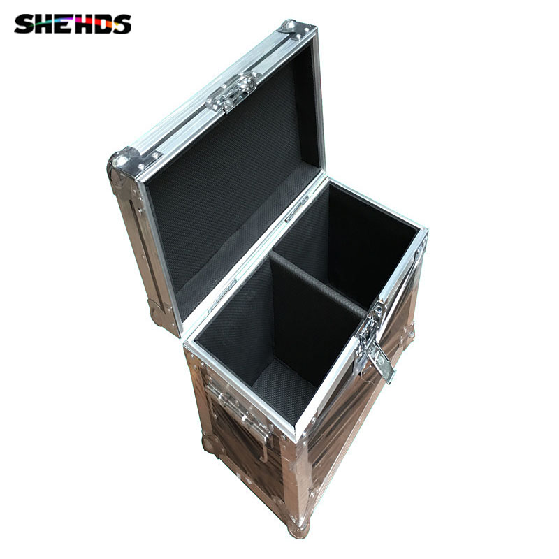 Empty Flight Case for 2 pieces LED Moving Head 7x12W / 18x3W Or 2 pieces LED Spot 10W / 15W / 30W